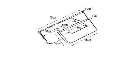 Costruire il barchino divergente o barchino