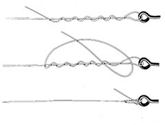 Hook knot.