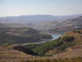 Lago artificiale Olivo