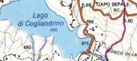 Lago artificiale di Cogliandrino
