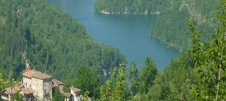 Lago artificiale di Talvacchia