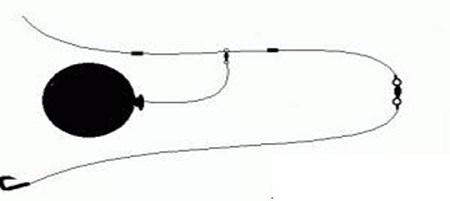 pesca col palloncino alla leccia amia
